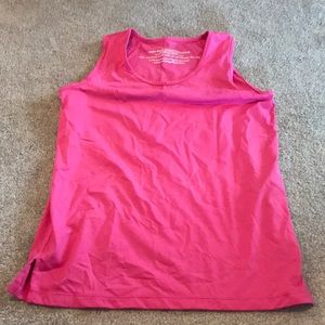 Tops - Running skirts.com pink performance tank top